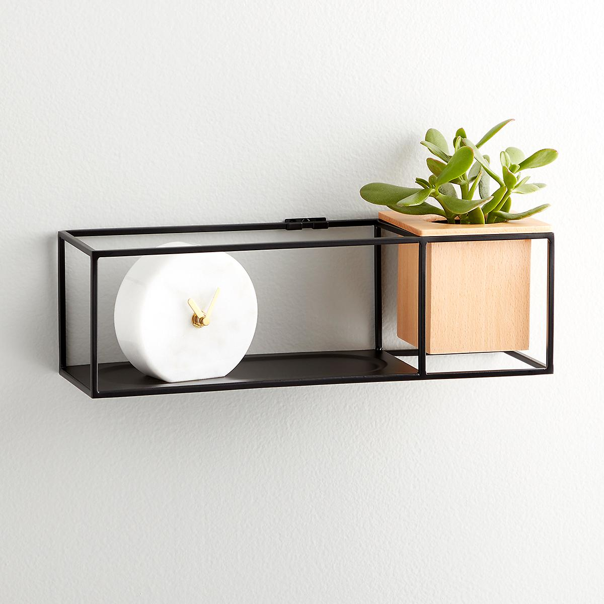 umbra small cubist wall shelf the container bla storage cube floating kmart bayfair ikea wood shelving unit short bookcase best fireplace mantels deep mounted shelves narrow