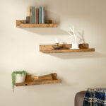 union rustic dunlap piece floating shelf set reviews pine shelves pre glued underlay with dpm homemade corner invisible wall bookshelf plans london custom shelving unit cabinet 150x150