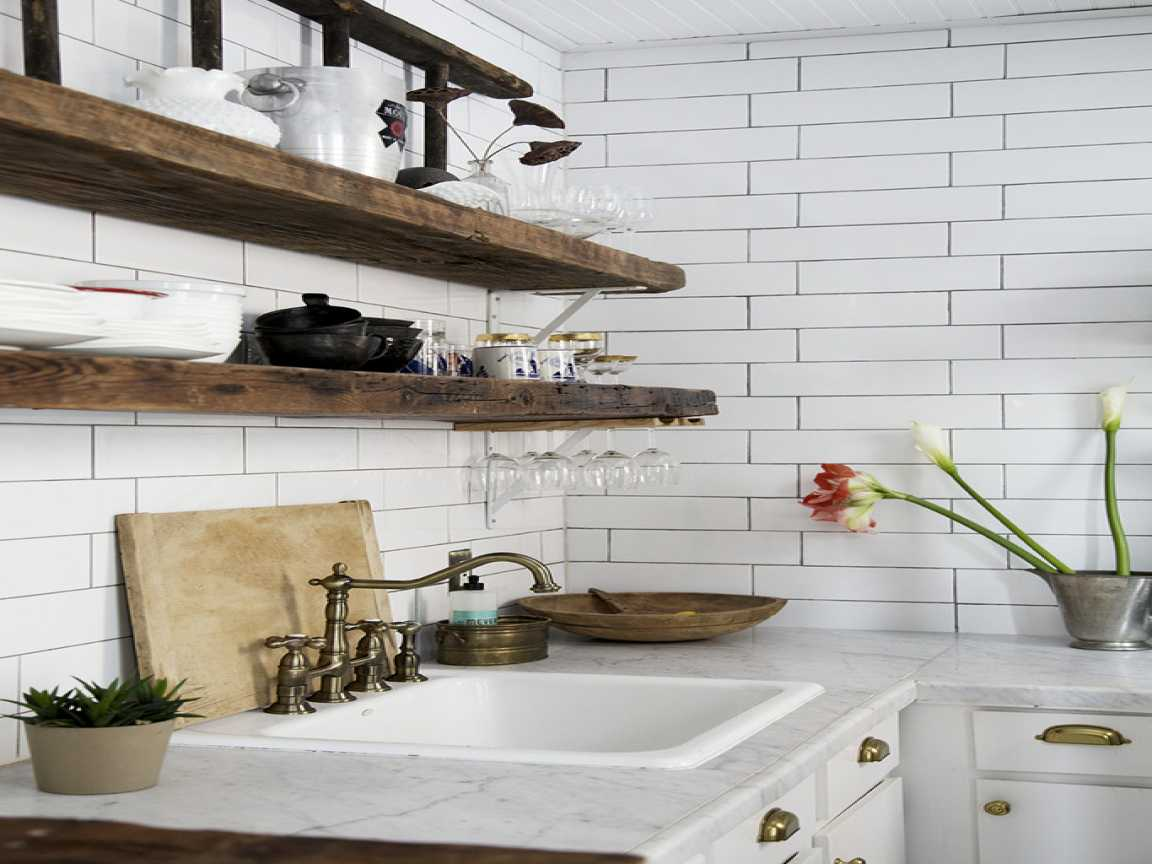 vintage style room decor collection also attractive reclaimed wood kitchen shelves tures base cabinet island recycled wall floating canadian tire flyer ontario computer desk foyer