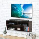 wall mount cabinet media console entertainment center stand floating shelves system video ikea ledge shelf for books ture bedroom lack pottery barn built small coat rail mounted 150x150