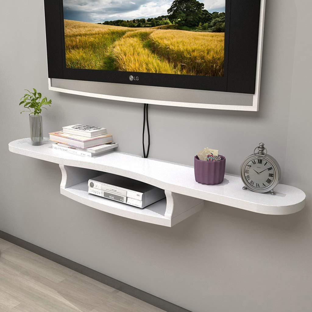 wall mounted cabinet floating shelf bedroom living for sky box room router set top storage console color kitchen rack ikea narrow trolley pottery barn wine treehouse bracket