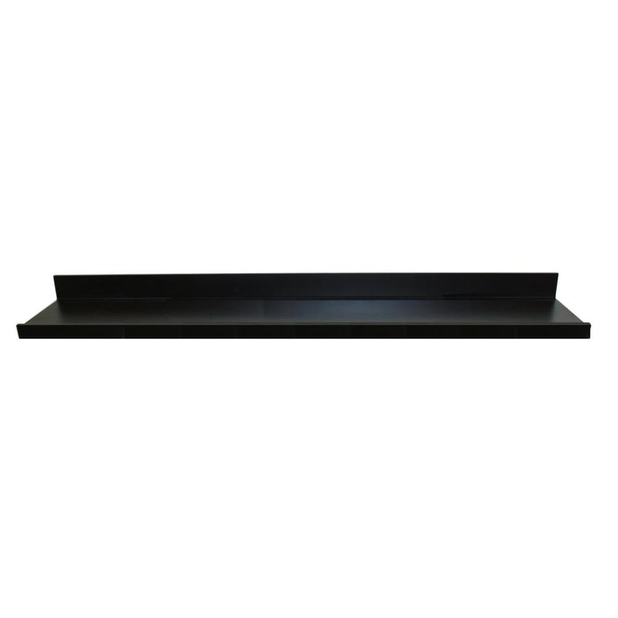 wall mounted shelving black floating shelf deep inplace brace countertop support target ledge kitchen recessed lighting layout coat and hat hanger wooden fire place surround