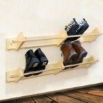 wall mounted wooden shoe rack floating organizer wood related shelves for shoes diy hidden gun cabinet glass dvd shelf kitchen designs without upper cabinets storage corner unit 150x150