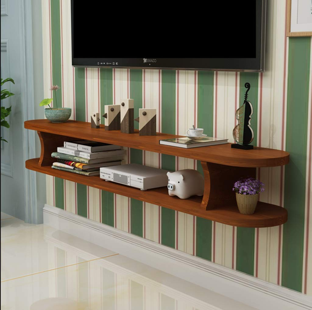 wall shelf floating mounted cabinet naweczvl wood for cable box stand organization solid set top router storage color bathroom corner shelves unusual cube sky small open unit