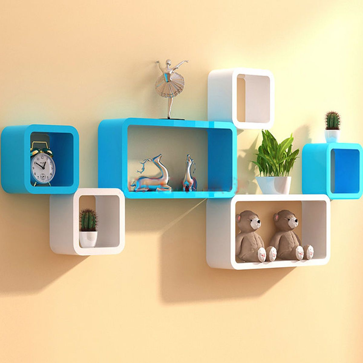 wall shelves cube shelf white wooden book storage home decor ledge floating organizer fds furniture diy children display unit room essentials bookcase instructions chesterfield