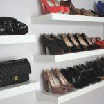 wall shelves for shoes and bags closet ikea lack floating sturdy bookshelf hall tree storage bench cherry tile shelf small shoe cabinet pegs racks shower liners kijaro chair 150x150