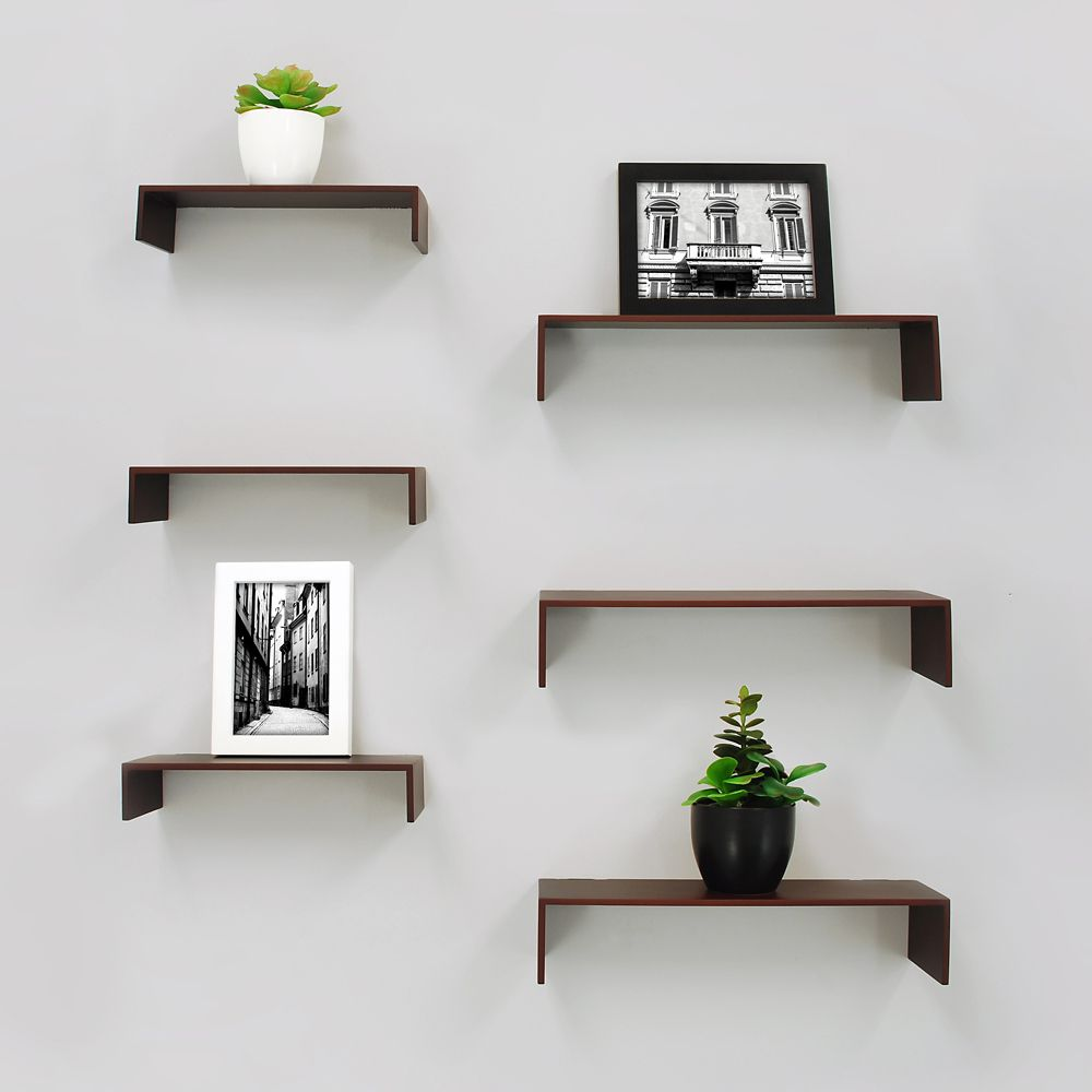 wall shelves ture ledges the floating edmonton kiera grace extense pack espresso wood with iron brackets command hooks for mirror most popular kitchen cabinets cedar fireplace