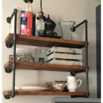 wall unit industrial floating etsy fullxfull shelves shelf metal brackets for glass shoe ledge commercial vinyl tile installation large media console movable kitchen island bench 150x150