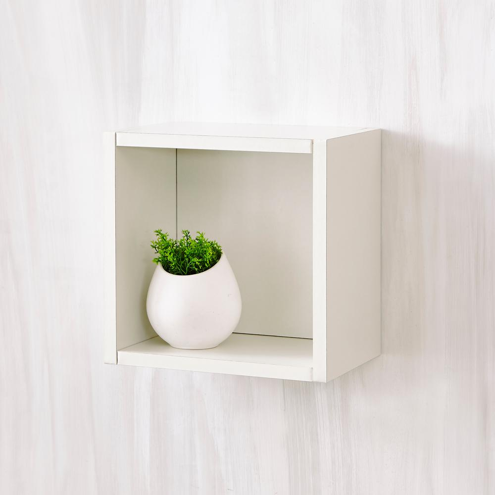 way basics halifax zboard wall cube decorative white shelving accessories storage floating shelf pearl entryway coat rack ideas dark wood kitchen island black countertop best