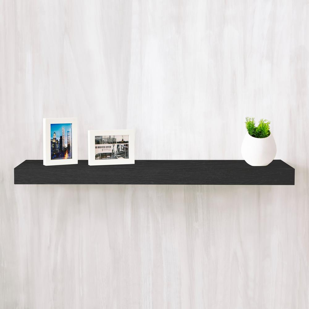 way basics positano zboard paperboard wall shelf black decorative shelving accessories floating shelves from hdx anchors for metal coat rack with books inch bracket brass hardware