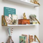 ways decorate with floating shelves decorating shelf bookends eclectic mix accessories custom made bookshelves can you lay vinyl tile over hanging coat rack storage built lights 150x150