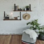 ways decorate with floating shelves decorating shelf living room wall made from old belts latex floor primer for vinyl tile small bathroom stand shoe storage unit suspended garage 150x150