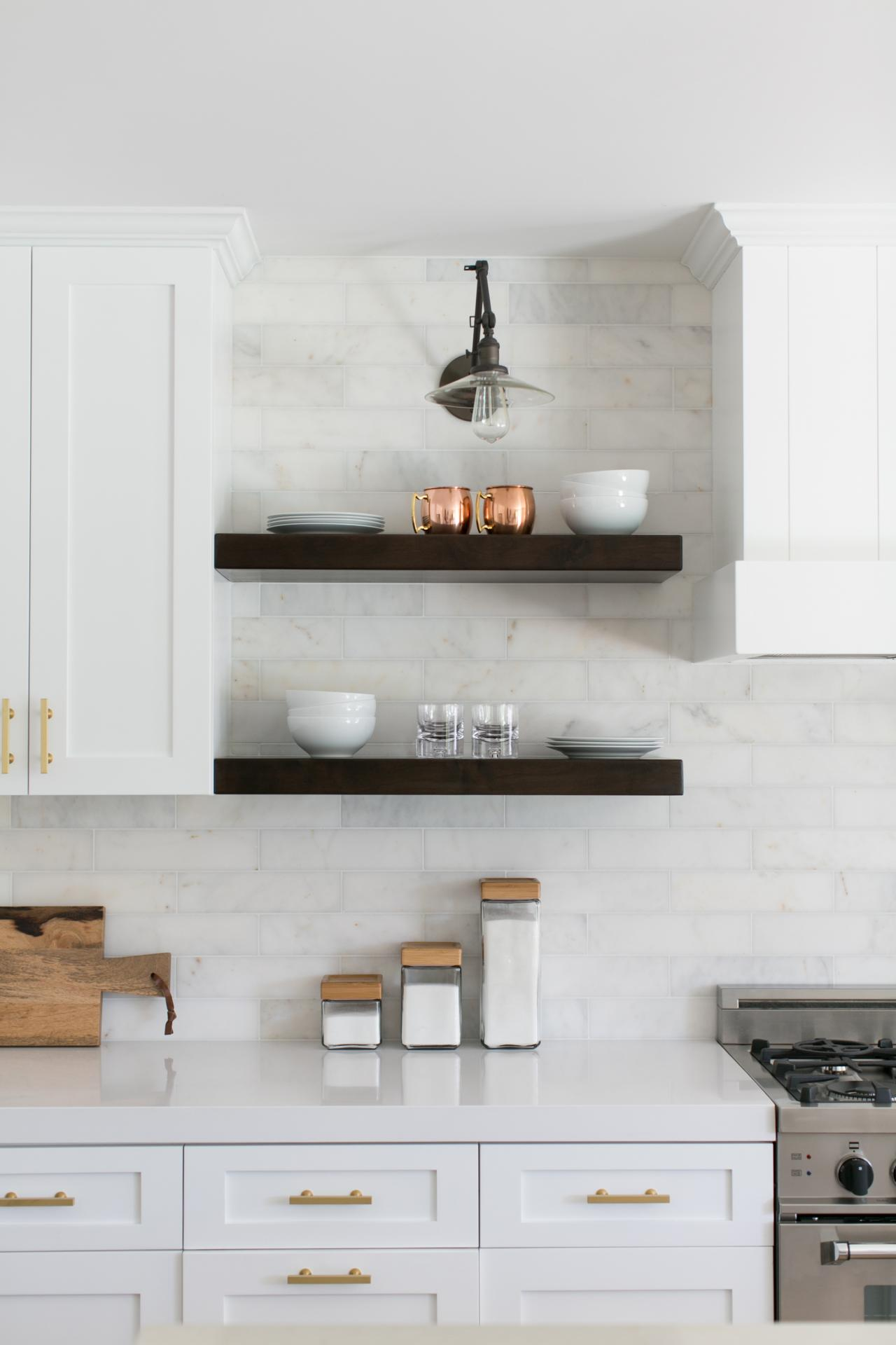 ways decorate with floating shelves decorating staggered kitchen display storage wall mounted bathroom sink cabinet open corner shelf target rolling wire rack ematic mount review