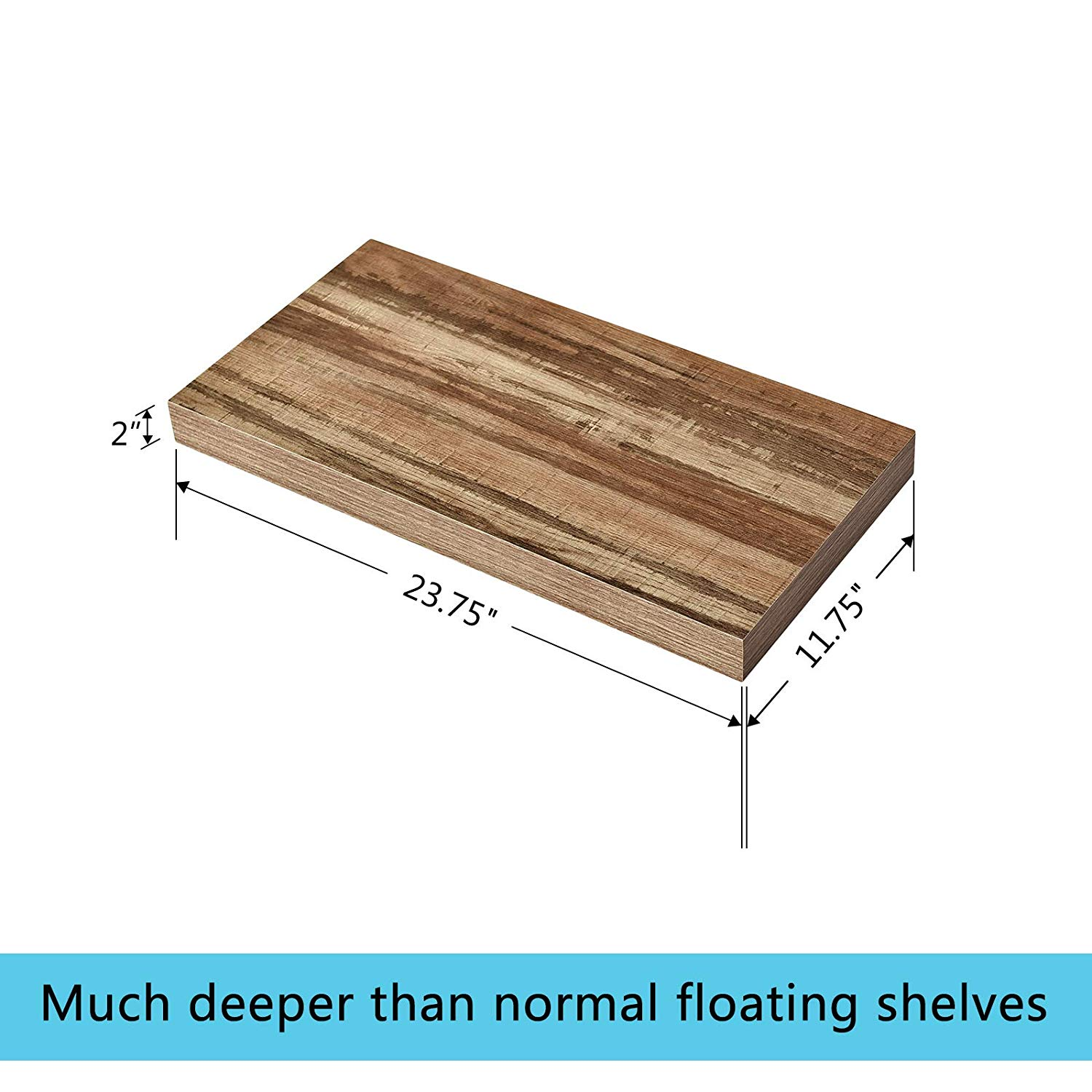 welland deep wall shelves floating shelf large inches deeper than others retro home kitchen velcro command strips weight oak stove beams installing luxury vinyl tile over linoleum