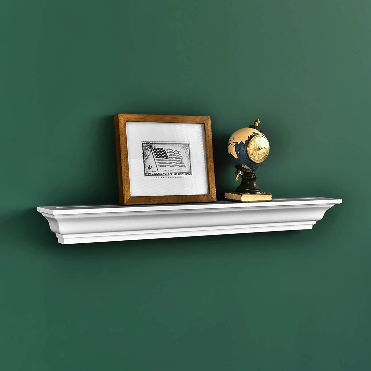 welland jefferson crown molding floating wall ture shelf ledge inch white home kitchen can you use self adhesive floor tiles walls large bookshelf plans ikea storage drawers
