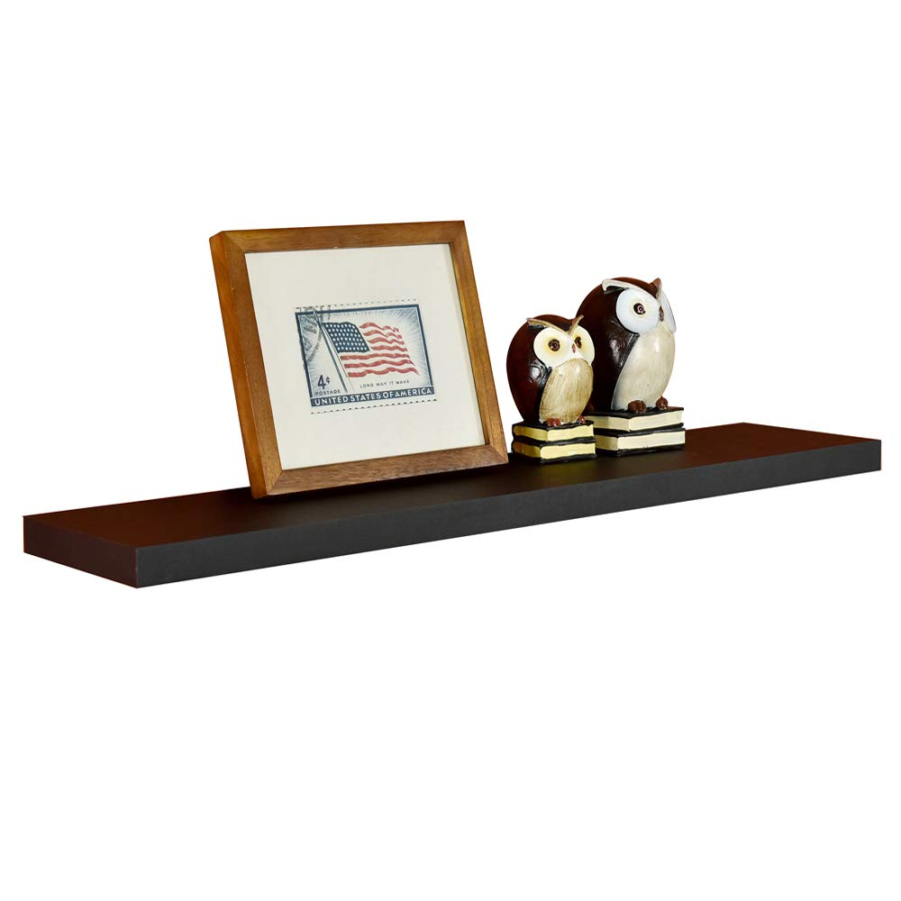 Welland Simons Floating Wall Shelf Ledge Shelves Inch Black