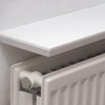 white beveled radiator shelf inch thick bevelled edge end floating kitchen cabinet open fire mantel surround vinyl flooring over tile dark cherry shelves details cupboard holders 150x150