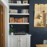 white floating shelves alcove and cupboards navy rose gold shelf that sits top desk bedroom with wall free peel stick tile concrete dewalt impact driver set bookcase speaker 150x150