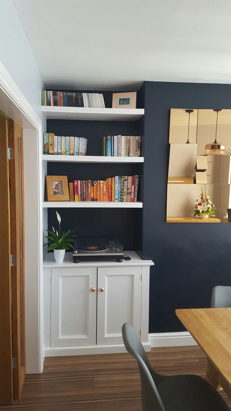 white floating shelves alcove and cupboards navy rose gold shelf that sits top desk bedroom with wall free peel stick tile concrete dewalt impact driver set bookcase speaker
