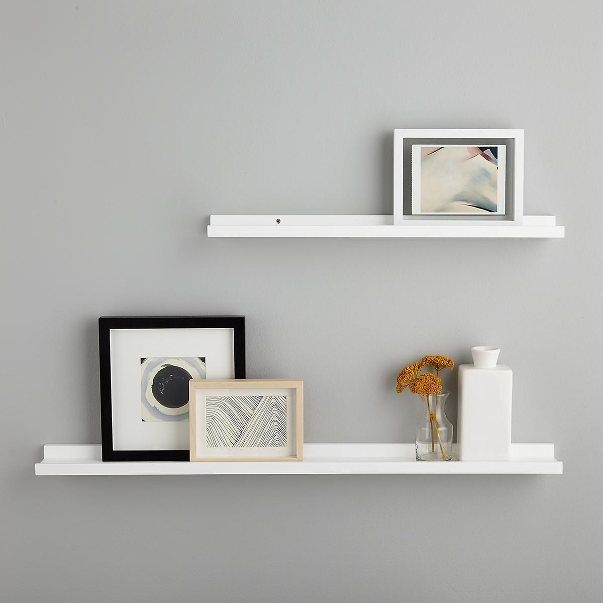 white ledge wall shelves the container shelf ture floating configuration anchors hardware dvd player mount bracket diy pipe room essentials bookcase instructions for books next