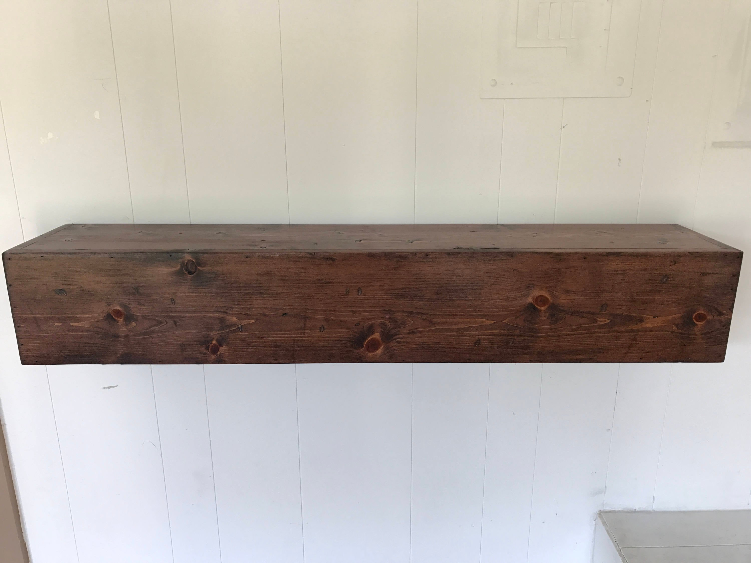 wood floating mantle shelf rustic reclaimed style red fullxfull cavz wooden mantel metal bookcase ikea wall mounted glass corner design your own shelving unit hall tree standing