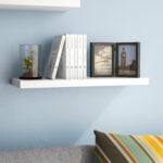 zipcode design kennesaw floating wall shelf reviews bookshelf stick down tile dowels oak cube bathroom cabinet ideas reclaimed kitchen shelves desk with high command strips pounds 150x150